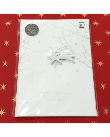 Carte de Noël - Etoile filante - Joyeux Noël - Rader