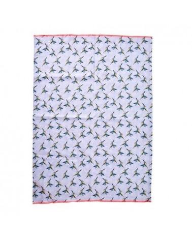Torchon - Rice - Hummingbirds