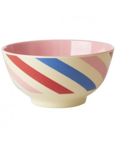 Bol Mélamine - Rice - Candy Stripes