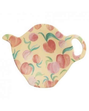 Coupelle à sachet de thé - Mélamine Rice - Choose Happy - Peach
