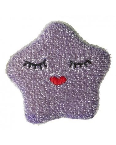 Éponge - Rice - Étoile Violette foncée