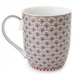 Mug fantasy blooming tails khaki - Pip Studio - grand