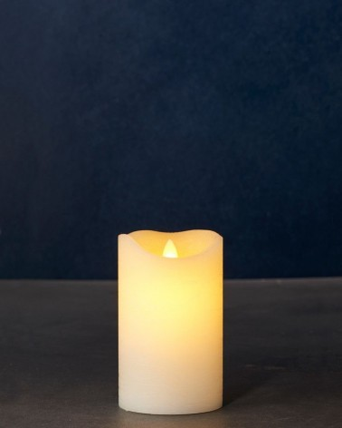 Bougie LED - Sirius - Sara Exclusive amande 12.5 cm