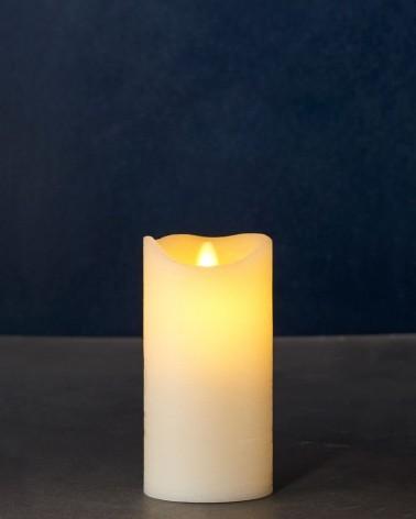 Bougie LED - Sirius - Sara Exclusive amande 15 cm