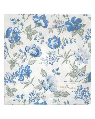 Serviette de table - Greengate - Donna blue