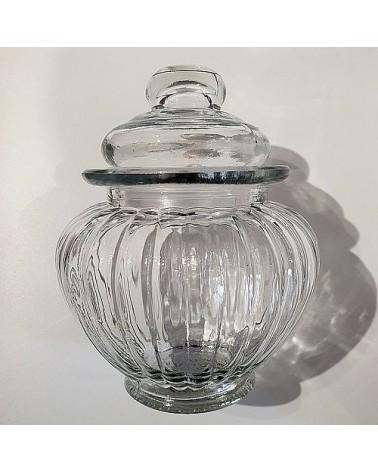 Petite bonbonnière en verre - Chic Antique