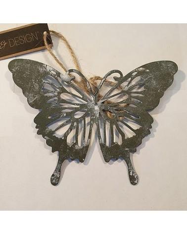 Suspension papillon ajouré Monarque - Country Casa