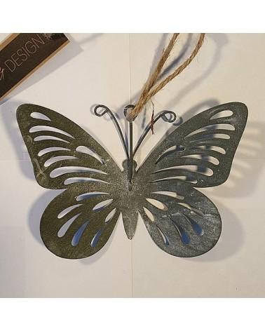 Suspension papillon ajouré Antennes - Country Casa