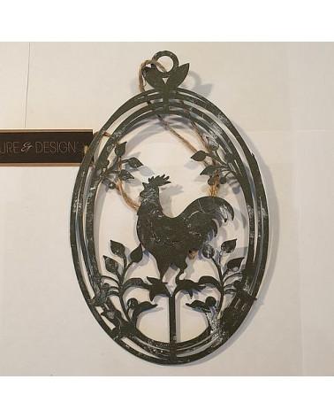 Suspension coq ovale - Country Casa