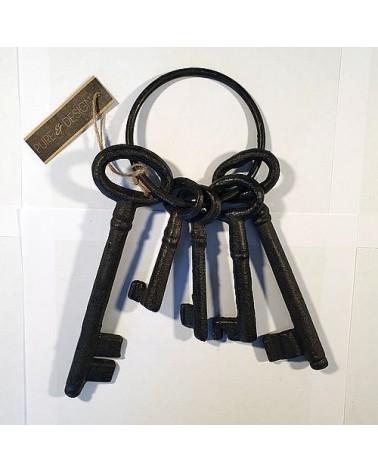Grand trousseau de clés décoratif - Country Casa