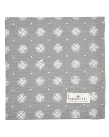 Serviette de table - Greengate - Saga warm grey