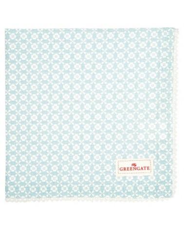Serviette de table - Greengate - Helle pale blue