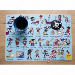 Set de table - Tyrrell Katz - Pirates