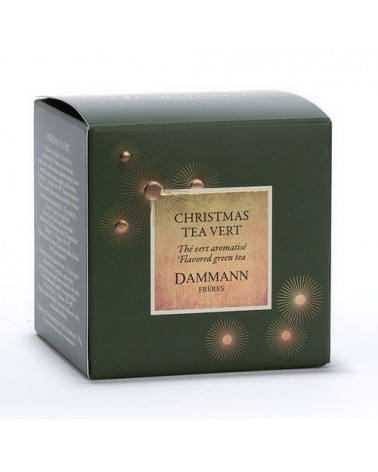 Boite 25 sachets Cristal - Dammann Frères - XMAS - Christmas Tea Vert