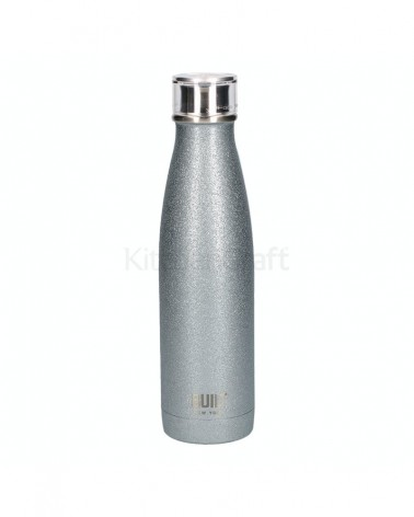 Bouteille isotherme - Built - Silver Glitter - 500 ml
