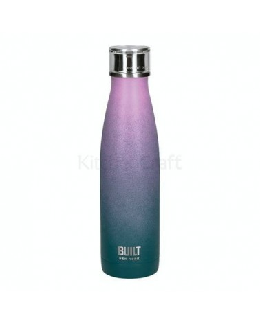 Bouteille isotherme - Built - Pink and Blue Ombre - 500 ml