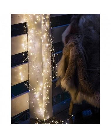 Guirlande lumineuse LED - Sirius - Knirke - 160L - Silver