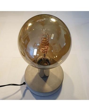 Lampe à poser avec socle circulaire - Country Casa
