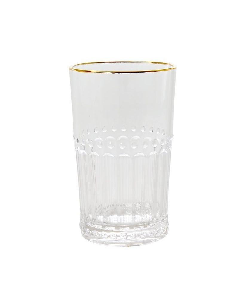 Gobelet medium - Rice - Acrylique - doré et transparent