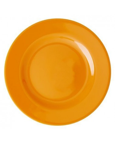 Assiette à dessert - Mélamine - Rice - Tangerine