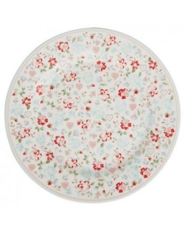 Assiette - Greengate - Merla white