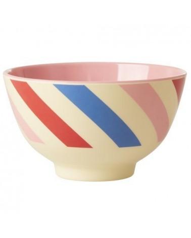 Petit bol en mélamine - Rice - Candy Stripes