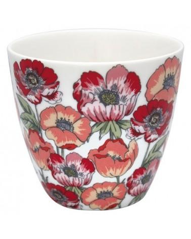 Latte cup - Greengate - Aria white