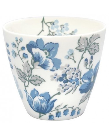 Latte cup - Greengate - Donna blue