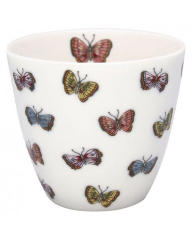 Latte cup - Greengate - Maisie white