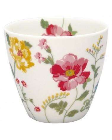 Latte cup - Greengate - Thilde white