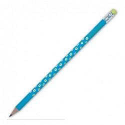 Crayon de papier - Krima et Isa - dabs turquoise