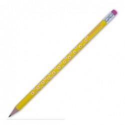 Crayon de papier - Krima et Isa - dabs yellow