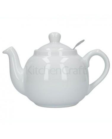 Théière - 1.2L - Blanc - KitchenCraft