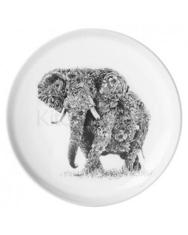 Assiette - Marini Ferlazzo African - KitchenCraft - Elephant - 20 cm