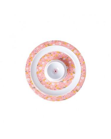 Coquetier - Mélamine - Rice - Pink Spring Flower