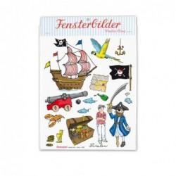 Feuille de stickers - Krima et Isa - pirates