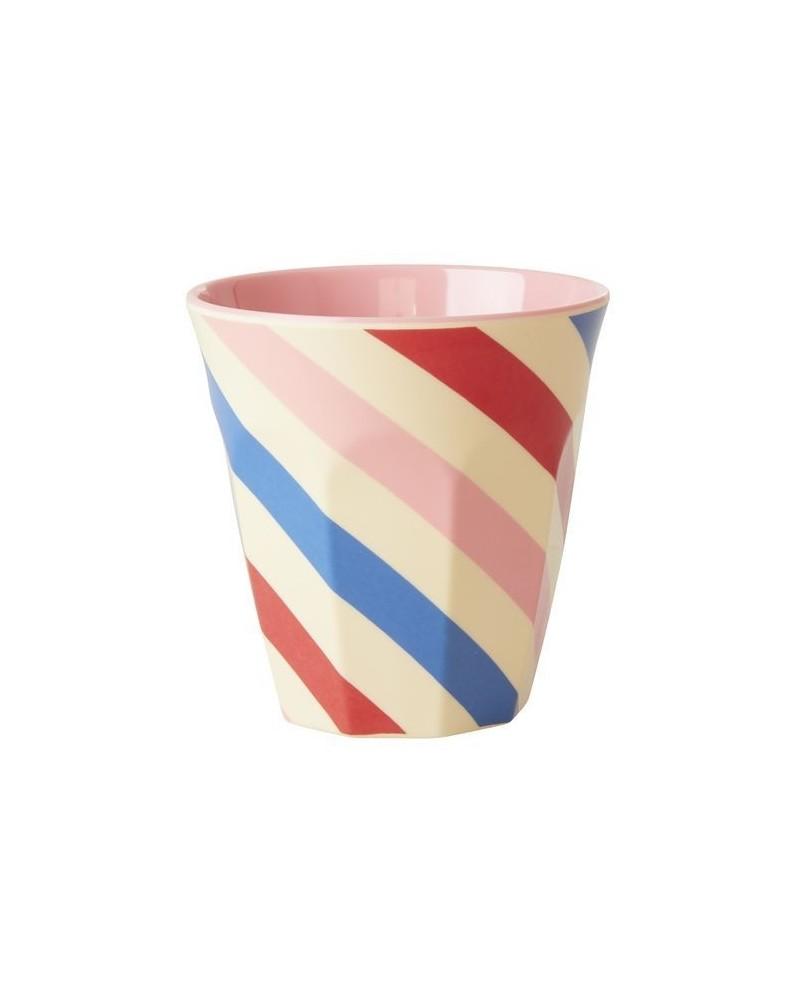 Gobelet Mélamine - Rice - Candy Stripes