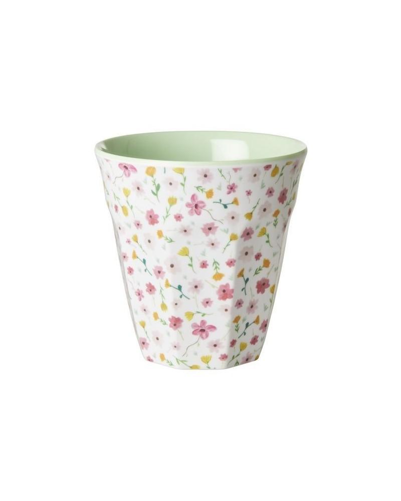 Gobelet Mélamine - Rice - White Easter Flower