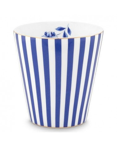 Mug sans anse - Royal Stripes - Pip Studio - 23 cl