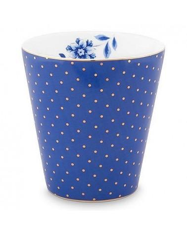 Mug sans anse - Royal Pois Bleu - Pip Studio - 23 cl