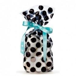 Lot de 10 sacs bonbons - Krima et Isa - dabs black
