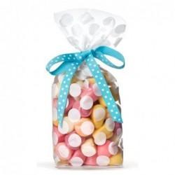 Lot de 10 sacs bonbons - Krima et Isa - dabs white