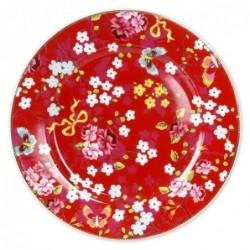 Grande Assiette Pip Studio - Porcelaine - Rouge - 32 cm