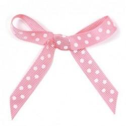 Ruban papier cadeau - Krima et Isa - dots pink - 2m50
