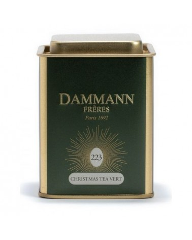 Boîte Métal Dammann Frères - XMAS - Christmas Tea Vert - 80g