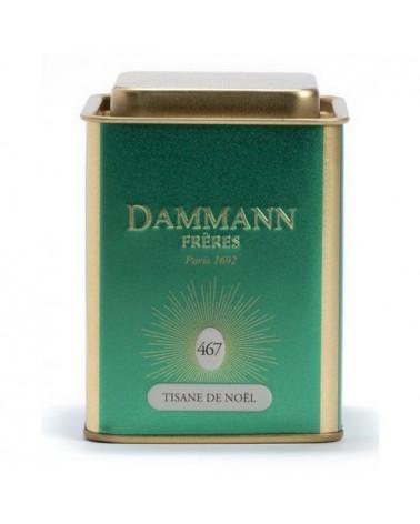 Boîte Métal Dammann Frères - XMAS - Tisane de Noel - 80g