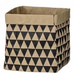Sac en papier - Bloomingville - black triangle