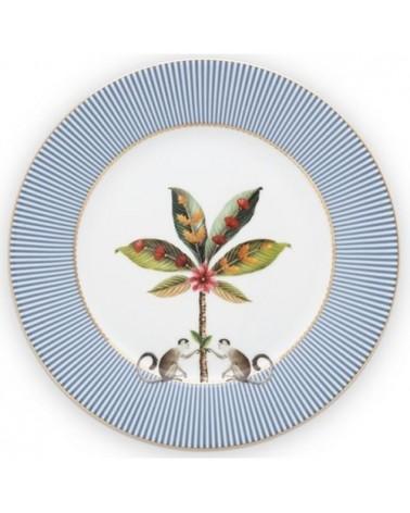 Assiette à dessert - La Majorelle - Bleue - Pip Studio - 21cm