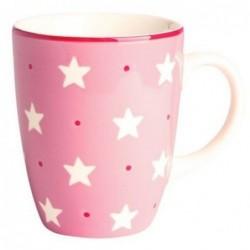 Mug étoiles roses - Déjeuner sur l'herbe - 30 cl
