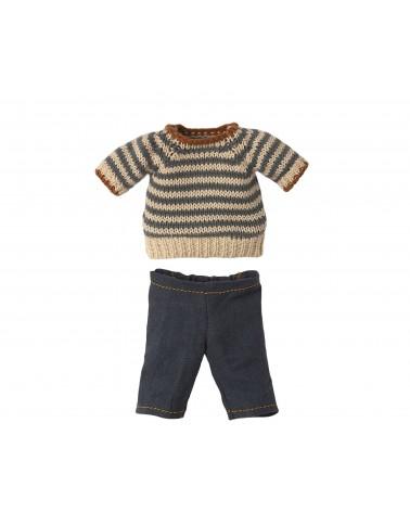 Petit pull et pantalon - Teddy Dad - Maileg